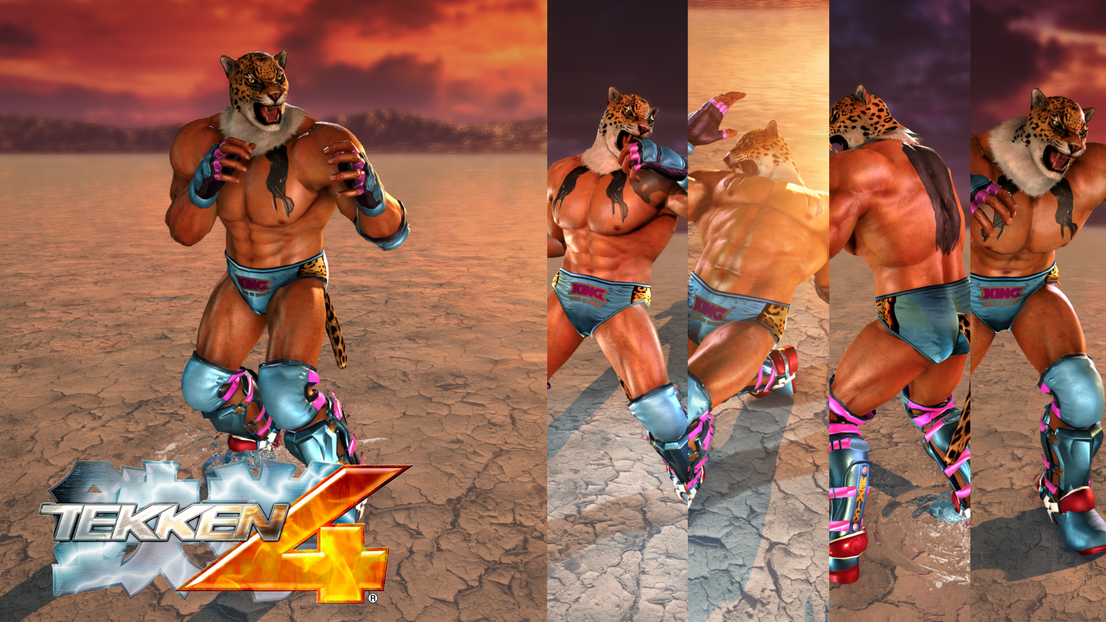 Tekken 4 Inspired King By Thei3arracuda On Deviantart