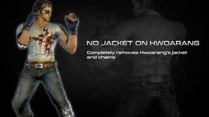 No Jacket on Hwoarang
