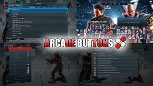 Arcade Buttons for Tekken 7