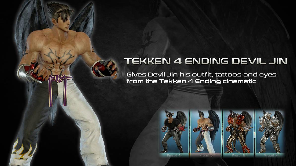 Tekken 4 Ending Cinematic Devil Jin By Thei3arracuda On Deviantart