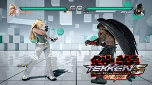 Tekken 5 Dark Resurrection Reborn HUD