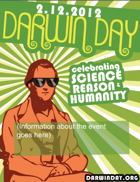 Darwin Day Flyer template by GeneticMishap