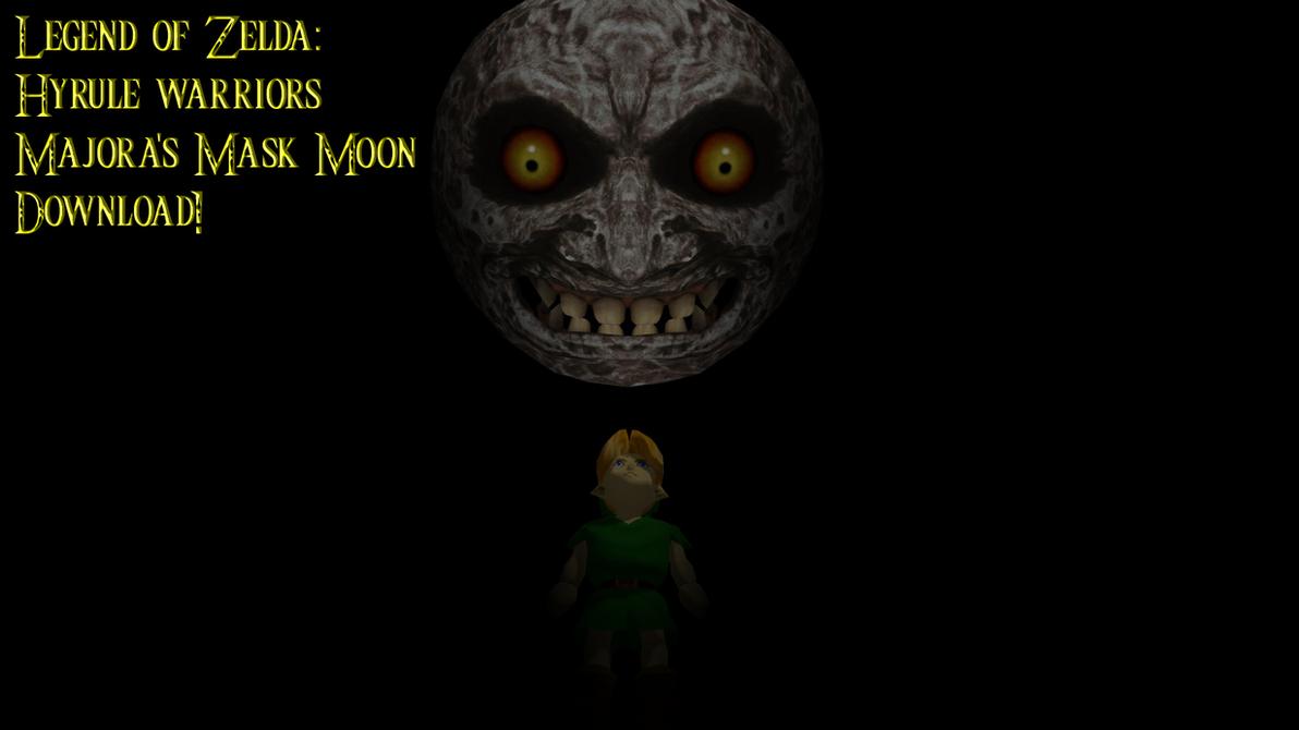 [MMD] Legend of Zelda: WiiU Majora's Mask Moon DL by smilecat98