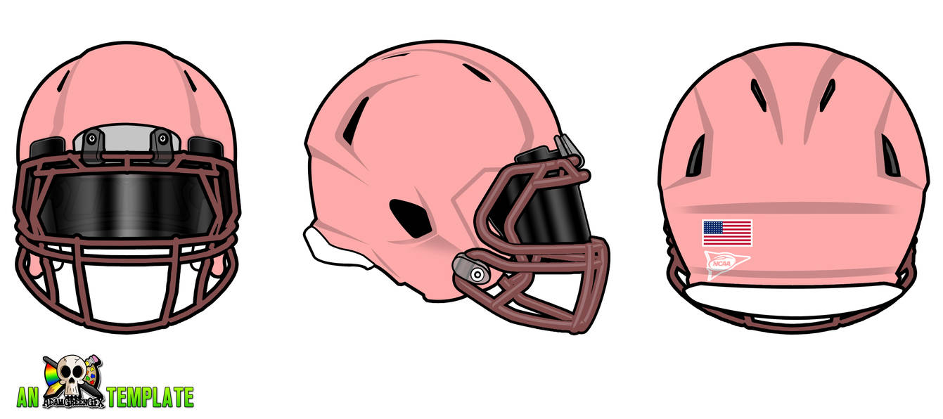 Aggfx Riddell Revo Speed Helmets Template By Adamgreengfx On