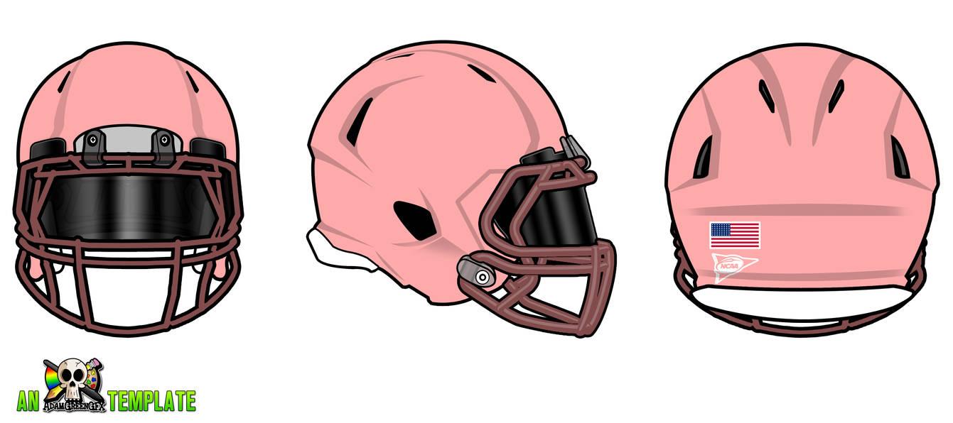 ED92 Football Helmet Template | Wiring Liry on