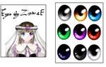 Eye texture pack by ZinniaE 1 by ZinniaE