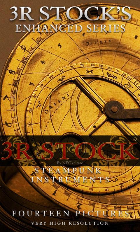 3R Stock Steampunk Instruments by NEOkeitaro
