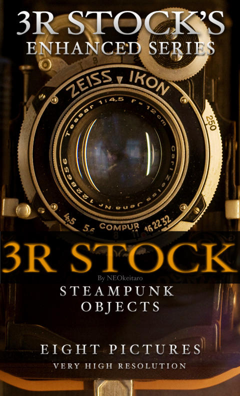 3R Stock - Steampunk Objects by NEOkeitaro