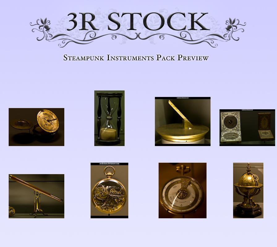 Steampunk Instruments Preview by NEOkeitaro