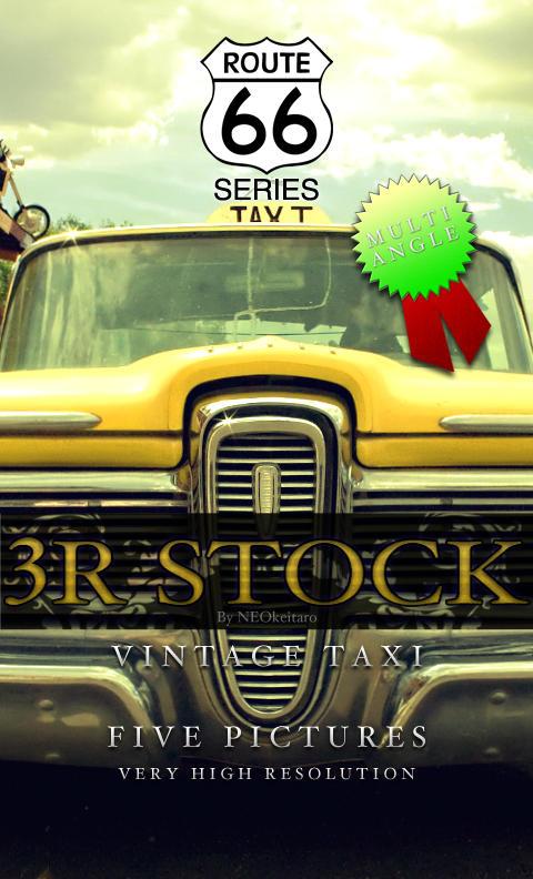 3R Stock - Vintage Taxi by NEOkeitaro