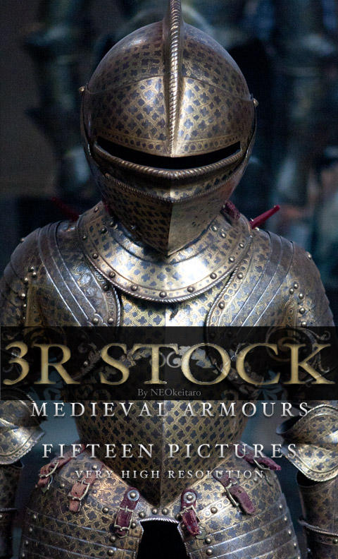 3R Stock - Medieval Armour I by NEOkeitaro