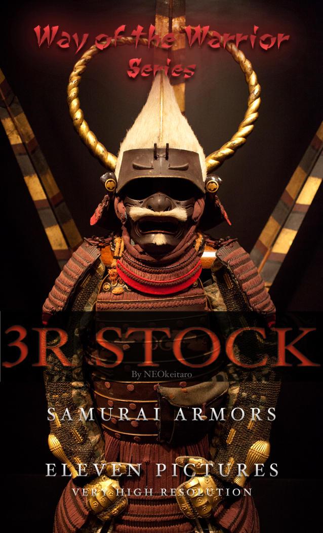 3R Stock - Samurai Armors by NEOkeitaro