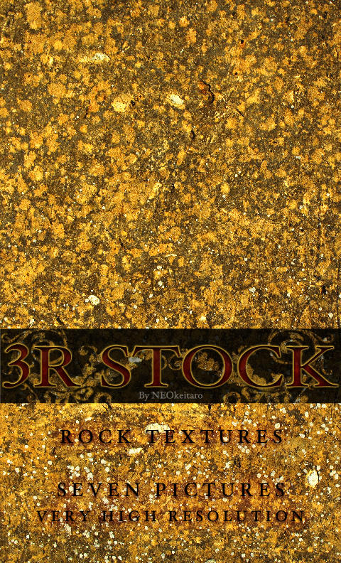 3R Stock - Rock Textures by NEOkeitaro