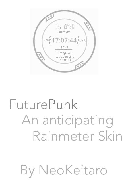 FuturePunk - Rainmeter by NEOkeitaro