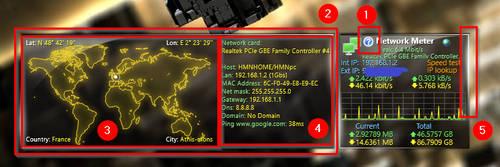 Network meter 3.0.1 (tweaked version) by hmn