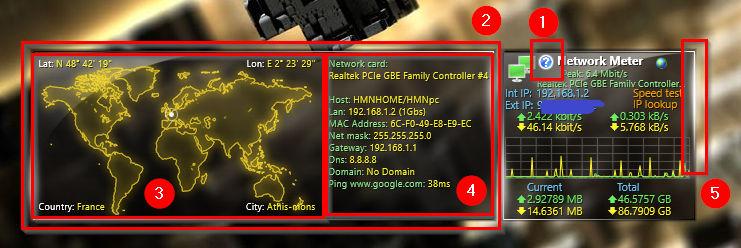 Network meter 3.0.1 (tweaked version)