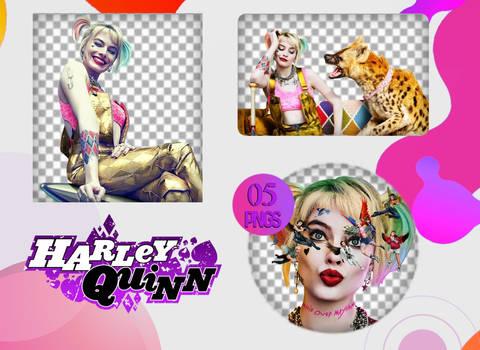 PACK PNG - Harley Quinn (Birds of Prey)