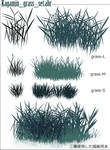 grassy place-Photoshop Brashes