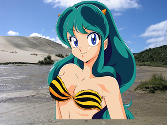 Lum In Quicksand by Kermitthefrog223456