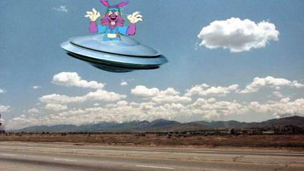 Dr. Rabbit's Spaceship by Kermitthefrog223456