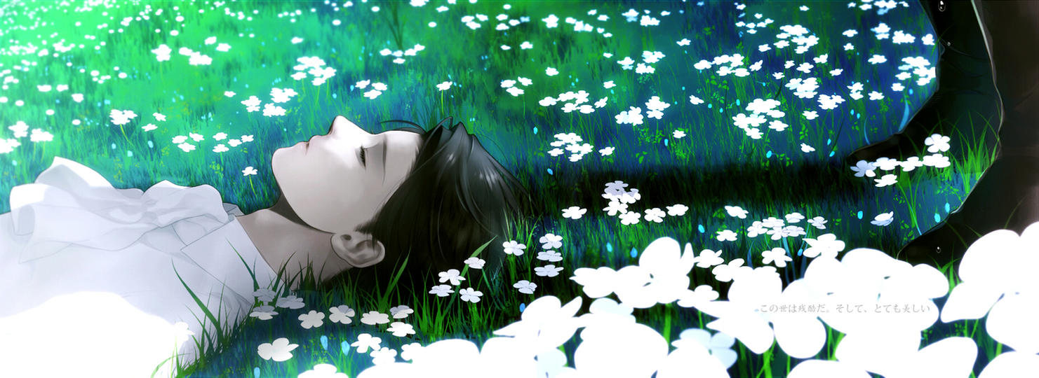 Fragile [Gardener!Levi x Paralyzed!Reader] AU by