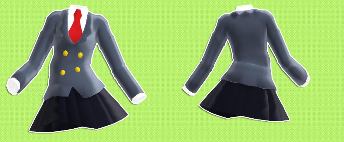MMD Uniform v0.1 beta+DL by Fina-Nz