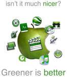 Gr33n OS X icons