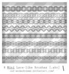 Mini Lace brushes