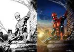 Spiderman process GIF