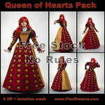 Queen of Hearts Free Stock Pack