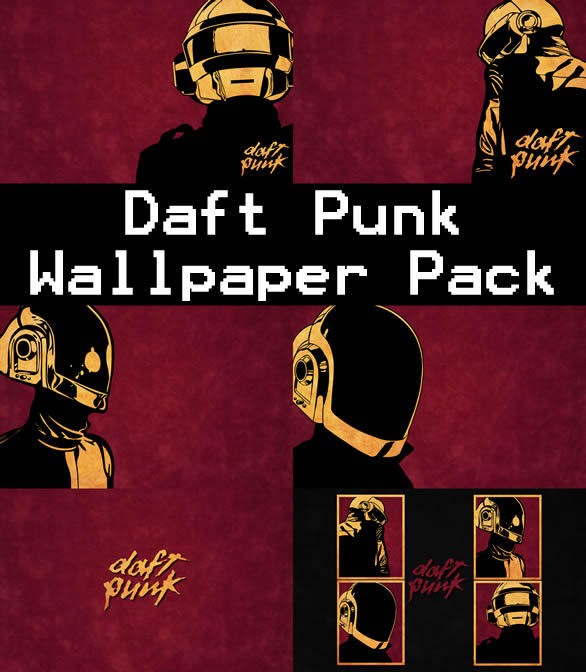 Daft Punk Wallpaper Pack by xDaftPunk