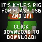 It's Kyle's Rig! For Flash CS6/CC/Animate CC 2015