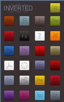 Refined Inset CS3 Icons by cmykdesigns