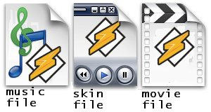 Winamp 5 Filetype Icons by xinh
