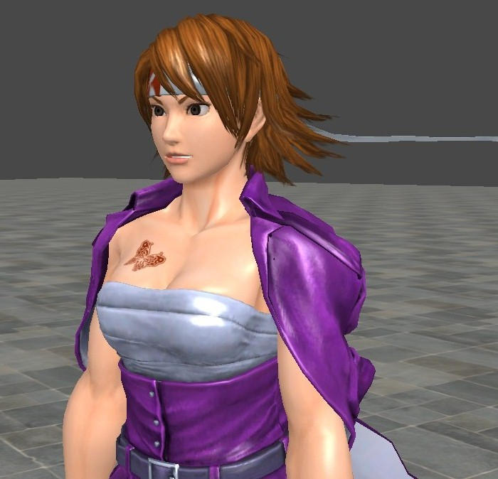 Asuka street tekken fighter kazama x