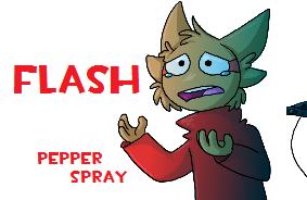 Pepper Spray by ColonelCheru