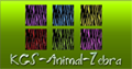 KGS-Animals-Zebra Pattern Set by shopkgsdotcom
