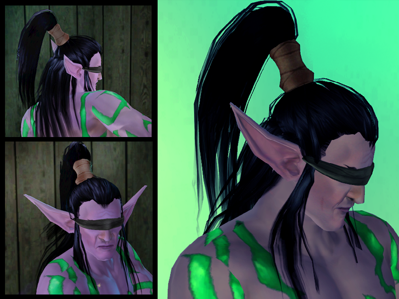 Illidan Hair for The Sims 3 (DL) by LadyofJustice