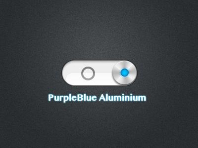 PurpleBlue Aluminium.theme by Studio-Sanchez