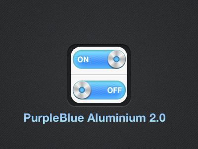 Purple Blue Aluminium 2.2 by Studio-Sanchez