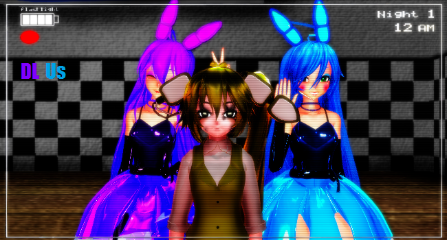 FNAF Bunny Sisters (DL!!) by AnimatronicToyBoonie