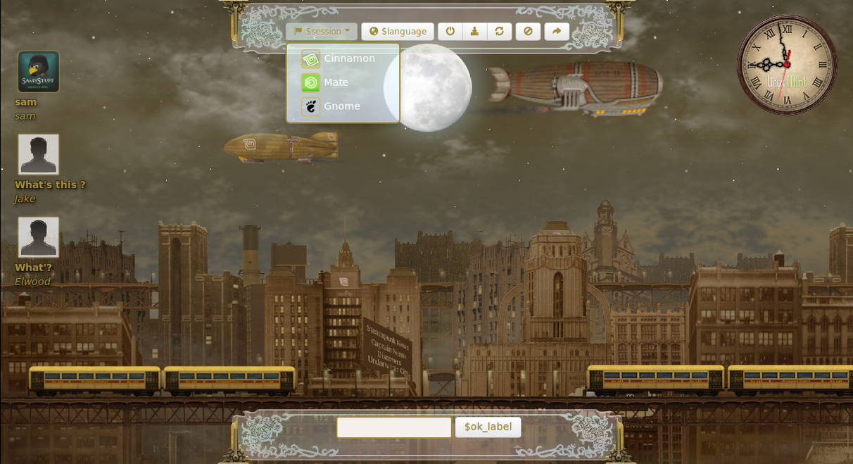 Steampunk Blimp City by samriggs on DeviantArt