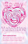 Free vector Valentine's card by grebenru