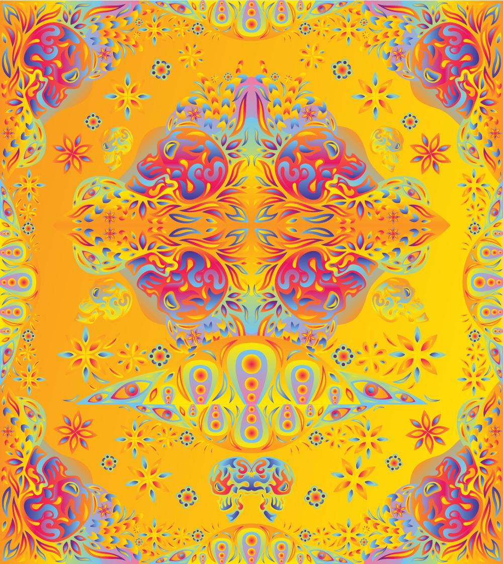 Free Psychedelic vector stuff by grebenru
