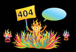 Free Monster 404 error page