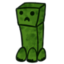 Creeper Shimeji by RestEnPeace