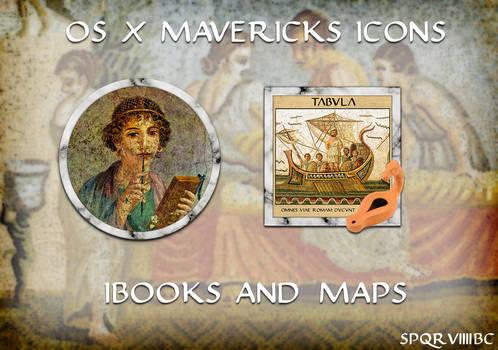 Ancient Roman Icons for OS X Mavericks