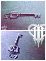 Kingdom Key - KHIII by vvmasterdrfan