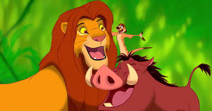 Simba, Timon and Pumbaa host One Saturday Morning