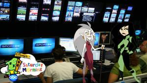 Eda and Shego host Disney's One Saturday Morning
